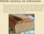 Chleb razowy na zakwasie 1kg