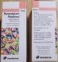 PYRANTELUM     tabletki 250 mg; zawiesina 50 mg/ml